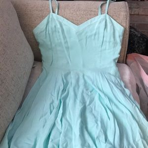 Perfect summer teal dress